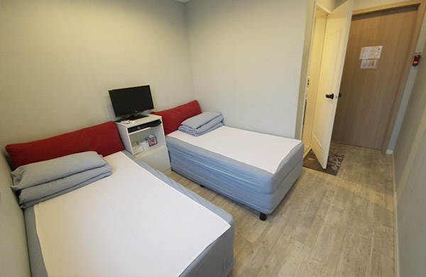 haeundae hostel the new day twin room photo