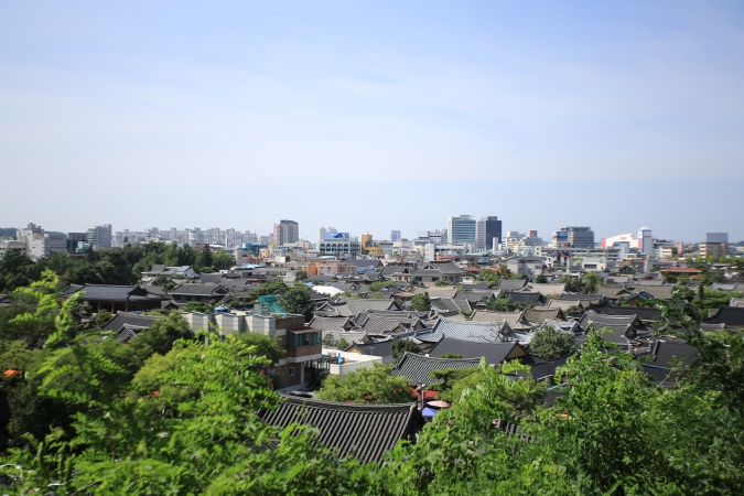 Jeonju Hanok Village Landscape