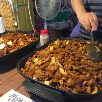 Jeonju Nambu Market food
