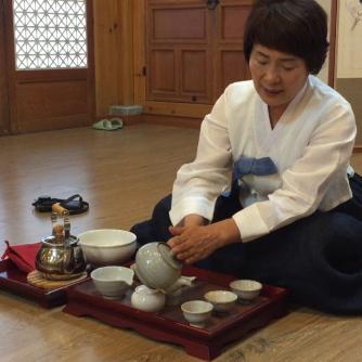 Korean tea ceremony Darye
