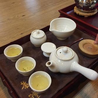 Korean tea ceremony Jeonju