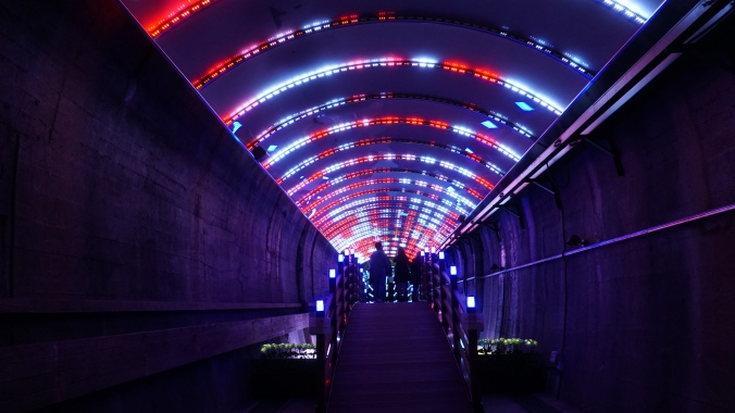 Suyanggae Light Tunnel
