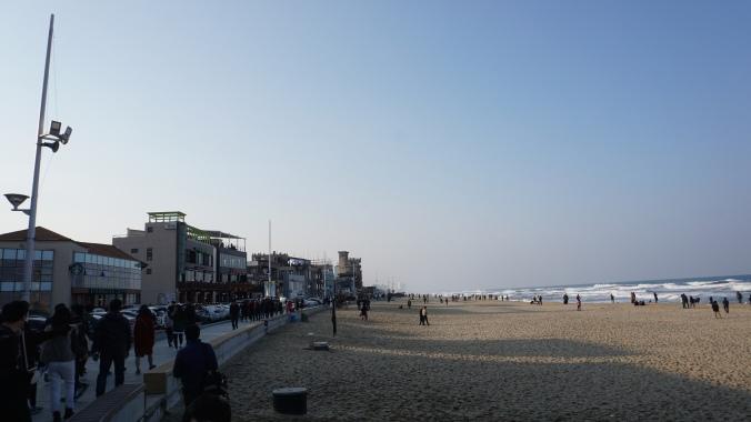 Gangneung Anmok Beach
