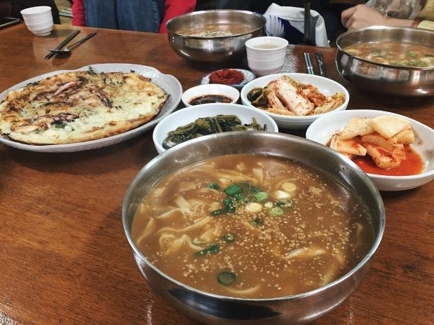Jeongseon handmade noodles