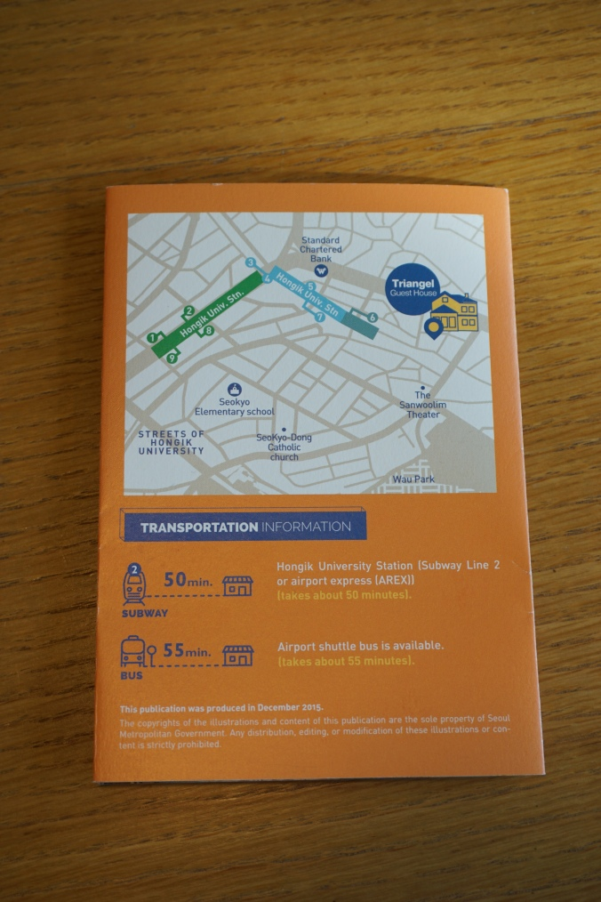 Triangel Guesthouse directions