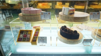 27 types of cheesecakes at C27 cafe