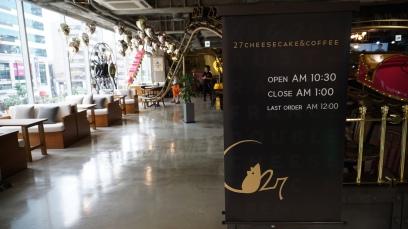 C27 Cheesecake Hongdae_Opening Hours
