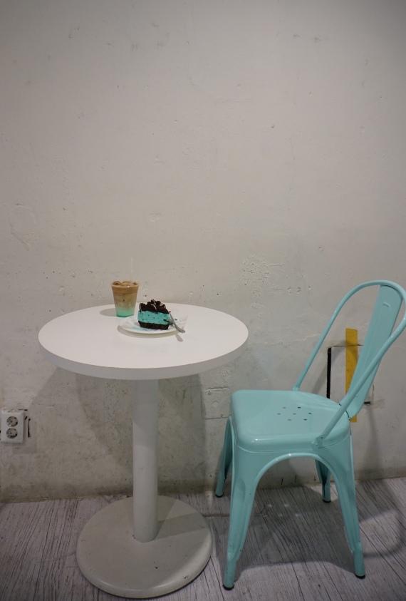 Cafe Mint Heim in Hongdae