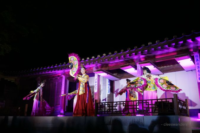 Changdeokgung Moonlight Tour Performances