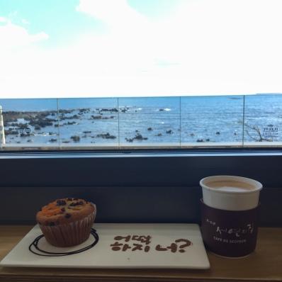 Cafe De Seoyeun in jeju seogwipo