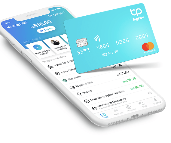 BigPay Review] Save money with BigPay card! Best currency exchange rate! |  cleeswanders